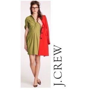 J.Crew Ruthie Dress in Green